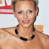 Princess Charlene of Monaco wearing piece